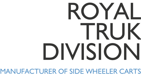 Royal Truk Division MANUFACTURER OF SIDE WHEELER CARTS